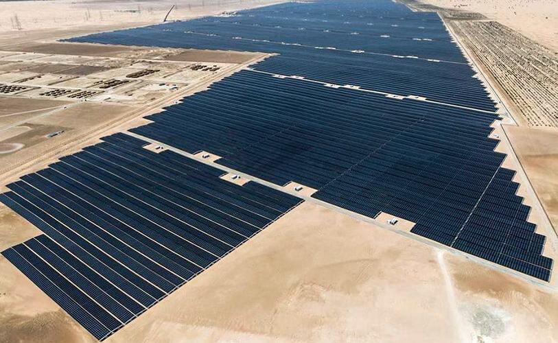 Planta solar abu Dhabi